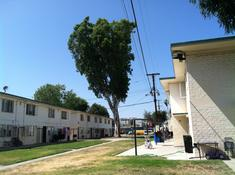 The Pueblo del Rio Government Housing Projects in South Central Los Angeles